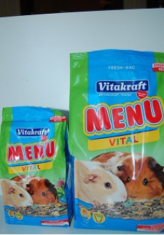 Menu for Guinea Pig
