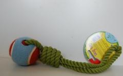 Punutud nöör palliga