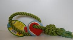 Punutud rõngas palliga