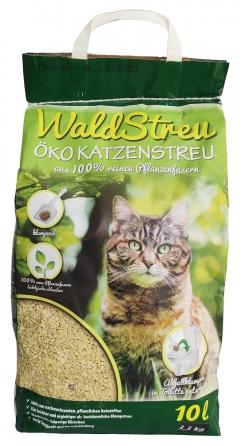 Наполнитель для туалета - WaldStreu OKO Wood, 10 литров