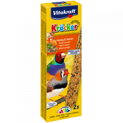 Kracker honey for exotic birds (2tk)
