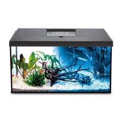 Aquael aquarium set Day and Night LED 105l Black (75x30x40)