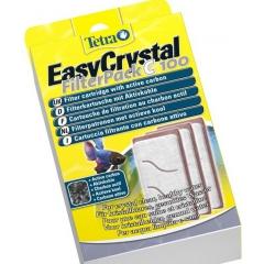 Easy crystal filterpack 100 c vahetavad elemendid süsiga Tetra Cascade Globe alvaariumile