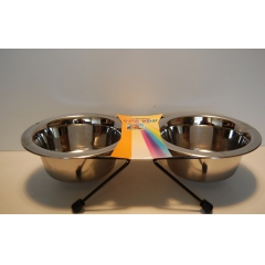 Metal bowl 2x250ml