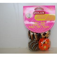 4 мячика Zolux (480418)