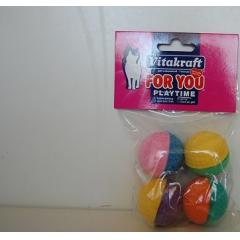 4 поролоновых мячика Vitakraft (39888)