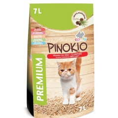 Pinokio (wooden cat litter clumping) 7l