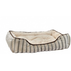 Bed white-brown medium 61x45x13