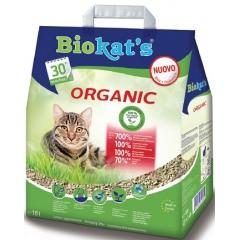 Biocat's Organic (wooden cat litter clumping) 10l