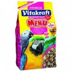 Menu for Parrots