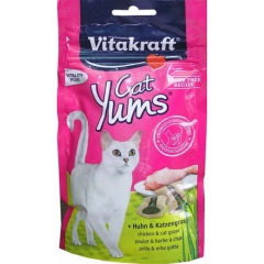 Vitakraft Yums with chicken and grass 40g