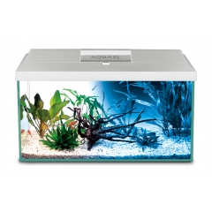 Aquael aquarium set Day and Night LED 105l White (75x30x40)