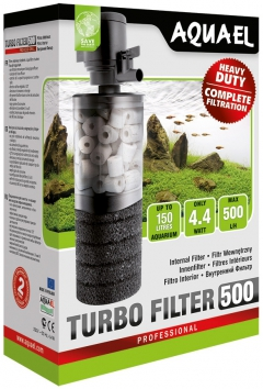 Aquael Turbo 500 filter