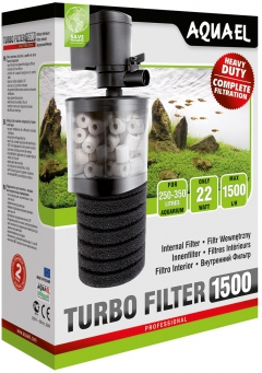 Aquael Turbo 1500 filter